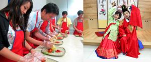 """海苔博物馆+韩国饮食体验中心""""泡菜DIY +韩服体验"""""""