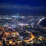 hakodate million night scene winter