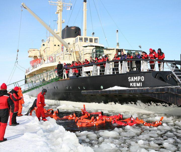 sampo icebreaking