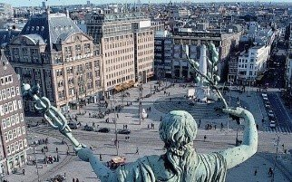 Dam Square + The National Monument