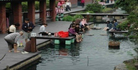 Jiaoxi Hot Spring Park