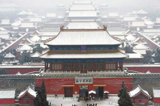 The Forbidden City  winter