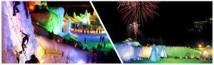 lake akan fireworks festival